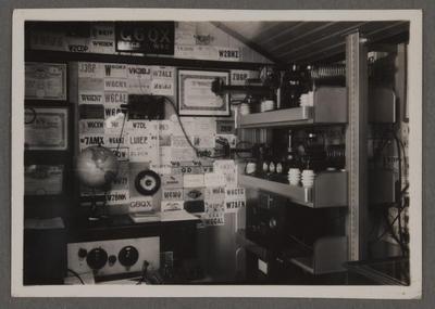 Radio equipment at station G6QX