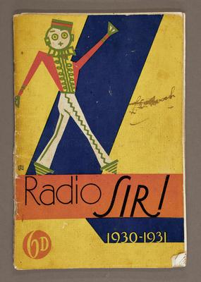 Radio Sir! 1930-31