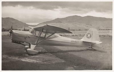 [ZK-BDY Auster J/5F Aiglet Trainer photograph]