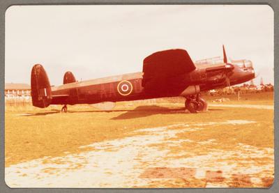 AVRO Lancaster 21.1.80 MOTAT Meloa Rd