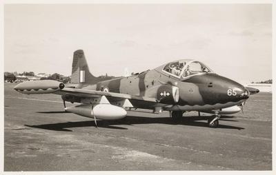 [NZ6365 BAC 167 Strikemaster MK 88 photograph]