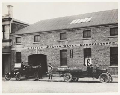 [Robert Garden Senior's aerated waters factory]
