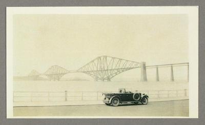 [Copy photograph of Oscar Garden's second-hand Chrysler bought in April 1930 to tour England and Scotland]