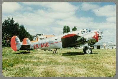 Beech AT-11 Kansan ZK-AHO 8.11.70 Hastings; John Page; 08 Nov 1970