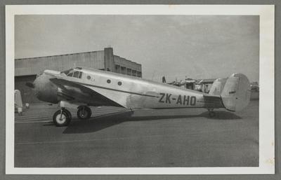 [ZK-AHO Beech AT-11 Kansan photograph]; John Page