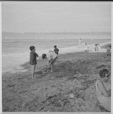 [family beach scene negative 5]