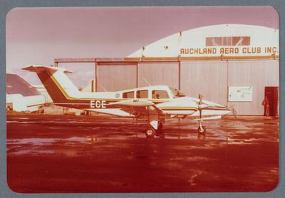 ZK-ECE Beech 76 Duchess 12.7.80 Ardmore