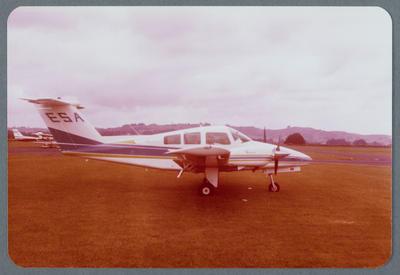 ZK-ESA Beech 76 Duchess 21.10.1980 Ardmore