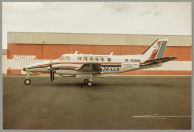 22/11/87 Ardmore [ZK-LLA Beech 99A]