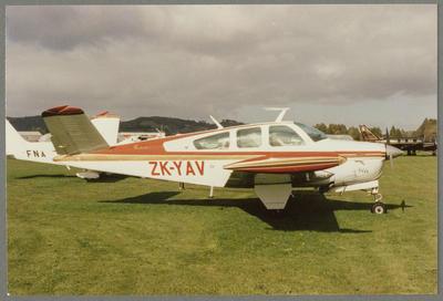 ZK-YAV 1/6/87 Ardmore