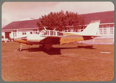 [VH-CFG Beechcraft photograph]
