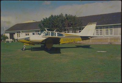 VH-CFG 21.4.77 Ardmore; John Page; 21 Apr 1977