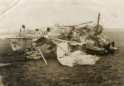 Hawker Hind crash in the UK
