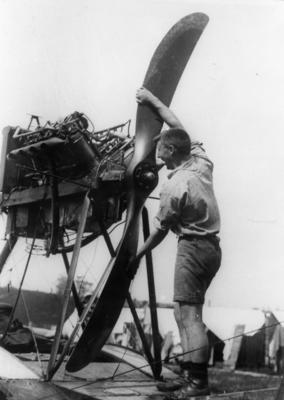 New Zealand Flying School, engine testing 1918
