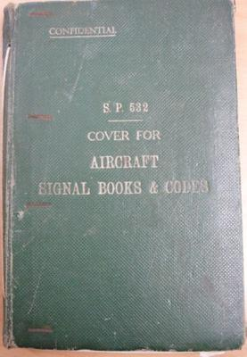S.P.532 : Cover for aircraft signal books & codes [naval aircraft code no. 2]