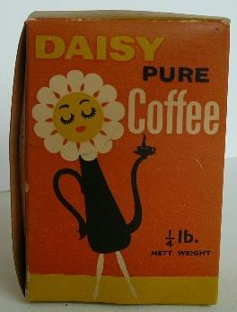 Container [Daisy pure coffee]