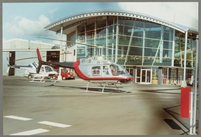 ZK-HQR Bell 206B 31.7.94 Mechanics Bay