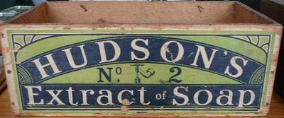 Container[Hudsons extract soap]