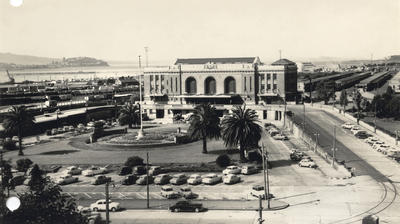 Auckland Central railway station, 1960s