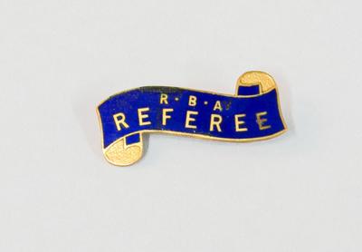 Badge [R.B.A Referee]