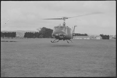 9a 29.8.70 Papakura Camp [NZ3809 Bell UH1H Iroquois]