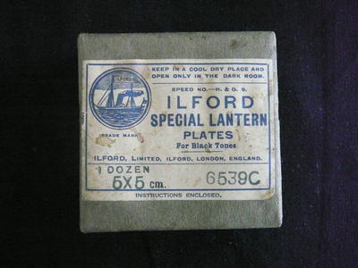 Lantern Plate Box [Ilford]