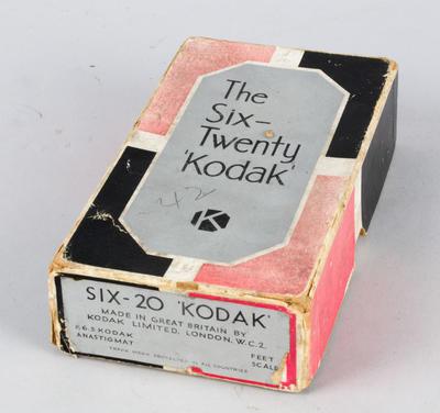 Camera box [The Six-Twenty 'Kodak']
