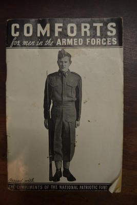 Book [Comforts for Men in the Armed Forces]