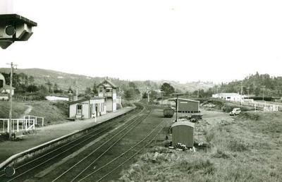 Swanson station, 1954