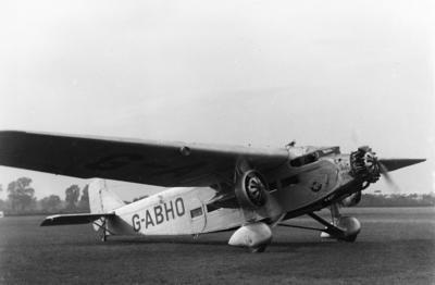 [RAAF A45 Ford Trimotor G-ABHO]