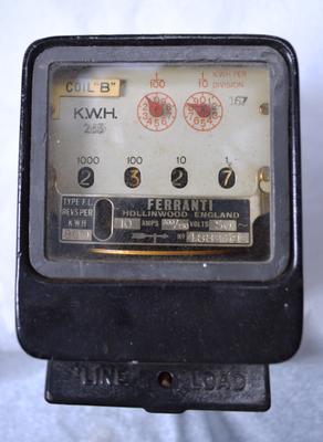Kilowatt Hour Meter [Ferranti]