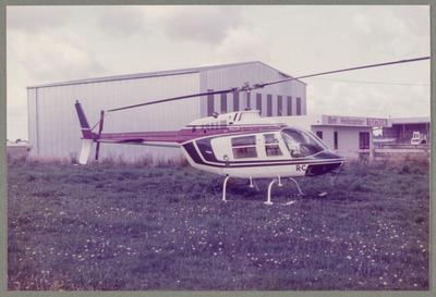 ZK-HRC Bell 206 Jet Ranger 1.12.84 Ardmore