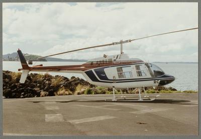 15/9/89 Mechanics Bay [ZK-HRC Bell 206 Jet Ranger]