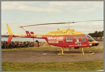16/8/67 Mechanics Bay [ZK-HRW Bell 206]