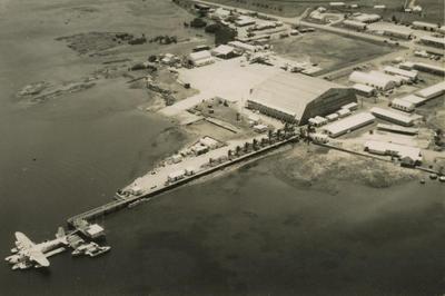 [RNZAF  Short Sunderland moored at Lauthala Bay, Fiji]
