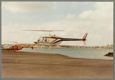 Bell 206 Jet Ranger ZK-HTC Mechanics Bay