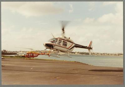 5/11/88 Mechanics Bay [ZK-HTC Bell 206 Jet Ranger]