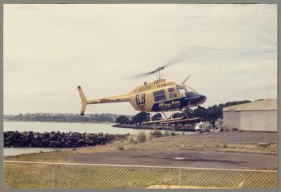 ZK-HTX Bell 206 Jet Ranger 27.1.86 Mechanics Bay