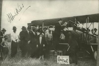 Avro 594 Avian, people with Bert Hinkler