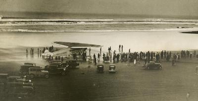 "Avro 618 tri-motor ""Faith in Australia"""