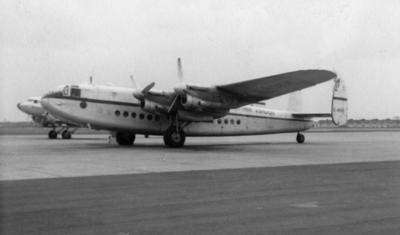 Avro York on the ground
