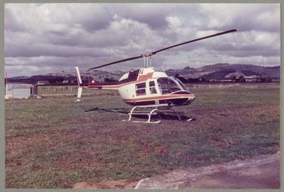 ZK-HZE Bell 206 Jet Ranger 20.4.84 Ardmore