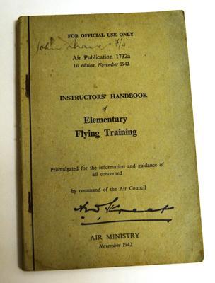 Instructors' handbook of elementary flying training