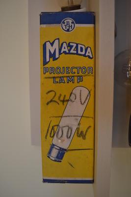 Projector Lamp Bulb Box [Mazda]