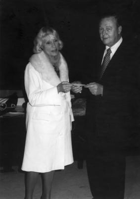 [Jean Batten and United States Ambassador to New Zealand Armistead Inge Selden Jr.]