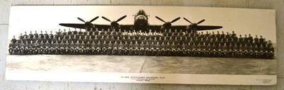 No. 582 (Pathfinder) Squadron, R.A.F., Little Staughton, Hunts., August 1945