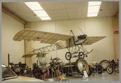 Bleriot Replica Southward Motor Museum 1.11.86