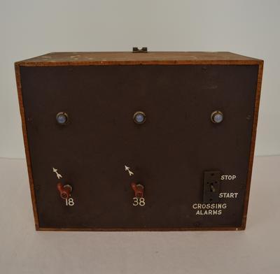 Control Box [Crossing Alarm]