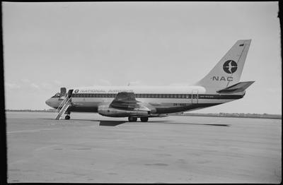 620 Chch 14.10.68 rear quarter [NAC Boeing 737-219]