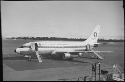 620 Chch 3.11.69 [NAC Boeing 737-219]